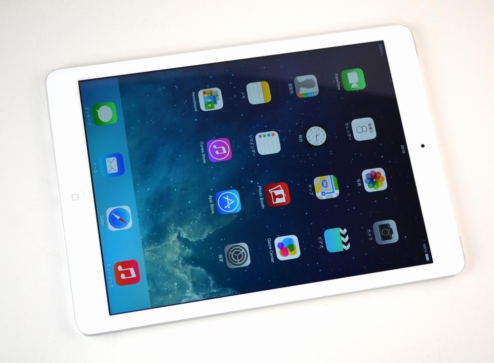 中古au iPad Air 買取ました!16GB Wi-Fi Cellular MD794J/A シルバー