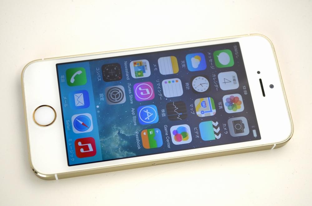 中古docomo iPhone5s買取ました!16GB ME334J/A ゴールド ドコモのiPhone売るなら福岡博多ジャンク品ジャパン