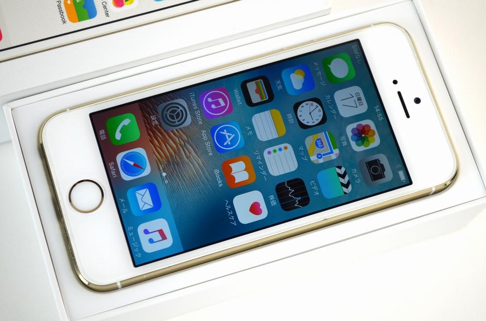 中古docomo iPhone5s買取ました!16GB ME334J/A ゴールド