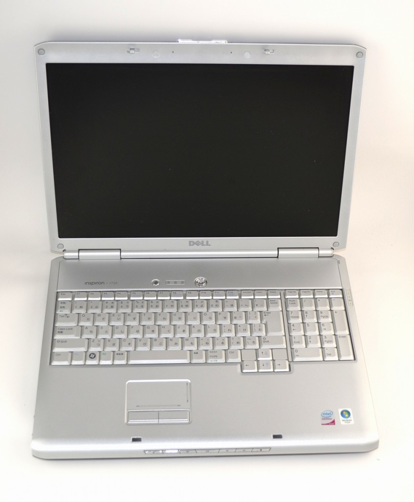 壊れたノートパソコン買取ました!DELL Inspiron 1720-壊れたノートPCの買取はジャンク品ジャパン