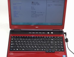 壊れたノートパソコン買取ました!NEC PC-LL750CS6R LL750/C Core i5 Win7