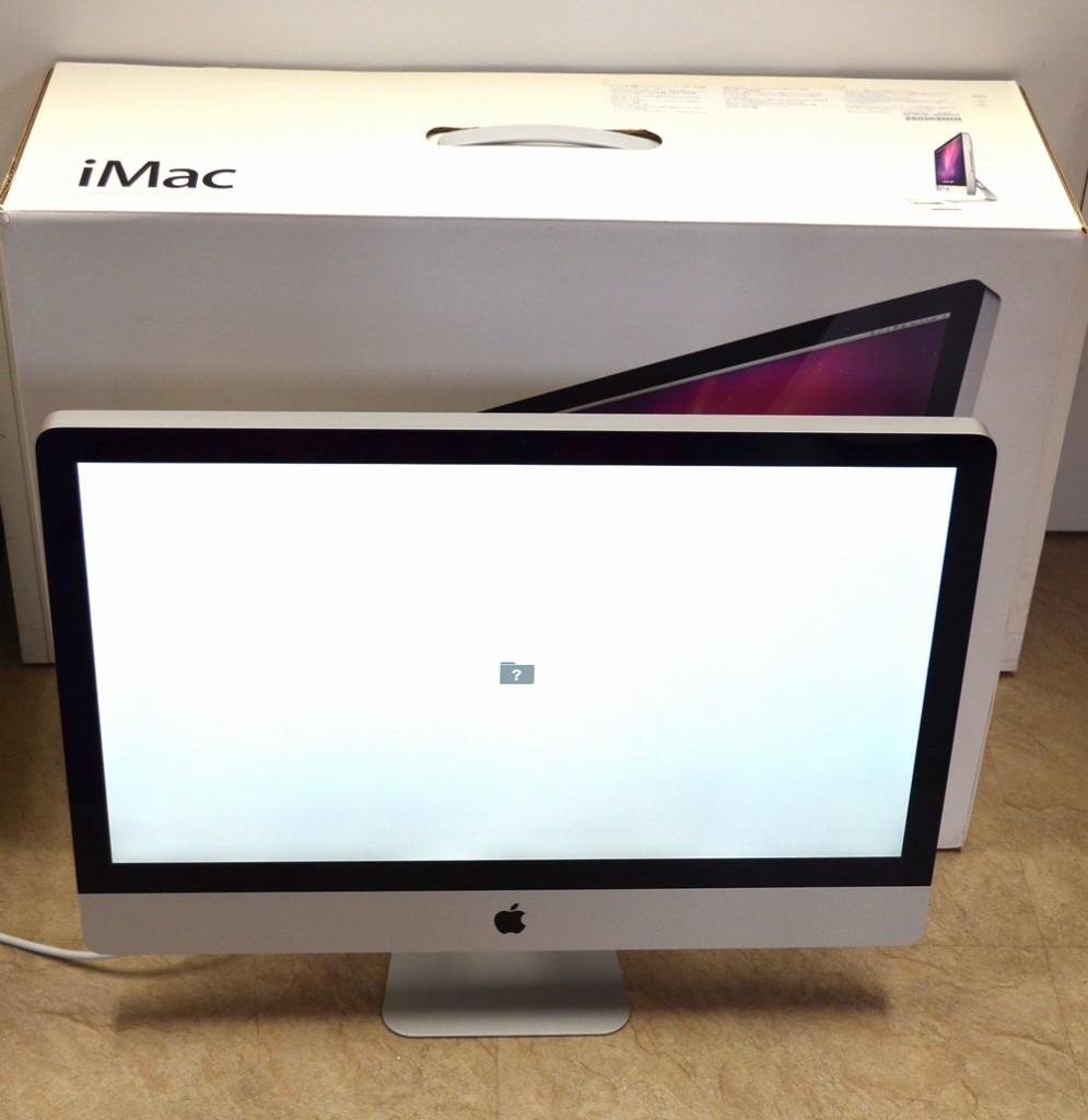 壊れたiMac他店圧倒価格で買取ました!27-inch,Late 2009 MB952J/A ジャンク品ジャパン