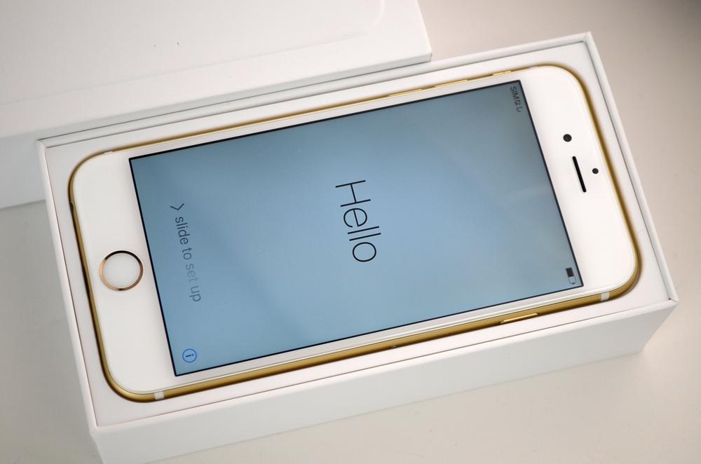 水没 au iPhone6買取ました!16GB ゴールド!iPhone買取福岡ジャンク品ジャパン
