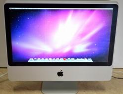 壊れたiMac買取ました!20-inch Mid 2007-iMacの買取はジャンク品ジャパン