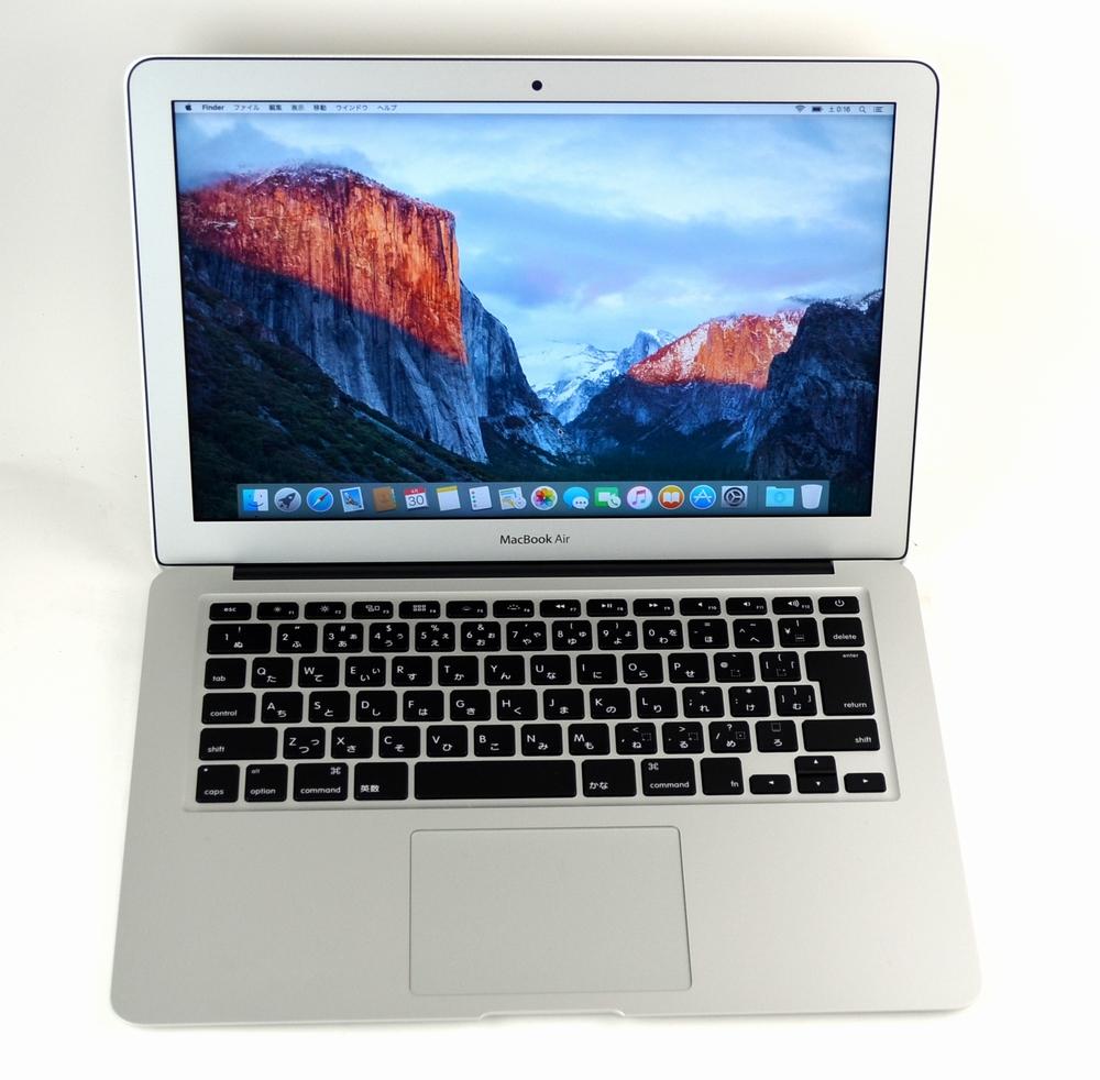 中古MacBook Air買取ました!13-inch,Early 2015