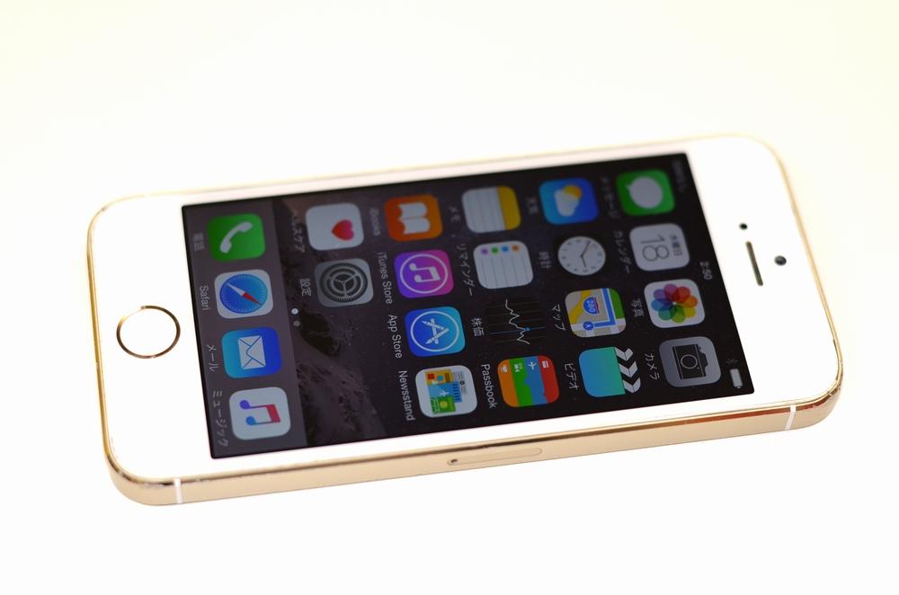 中古SoftBank iPhone5s買取ました!16GB ゴールド ME334J/A
