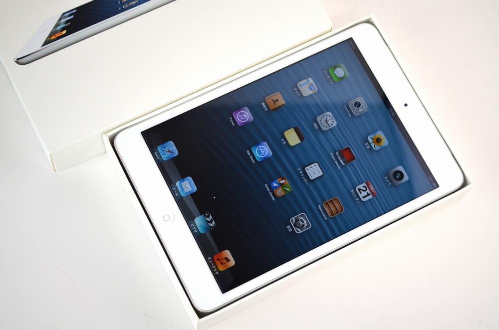 中古au iPad mini買取ました!16GB MD543J/A ホワイト