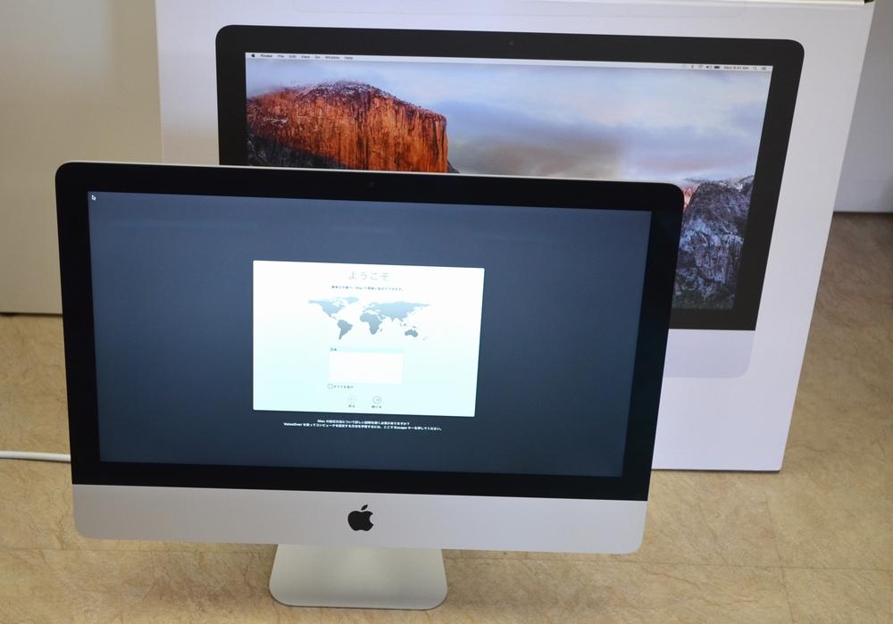 中古iMac買取ました!21.5-inch,Late 2015 MK442J/A-Macの買取はジャンク品ジャパン