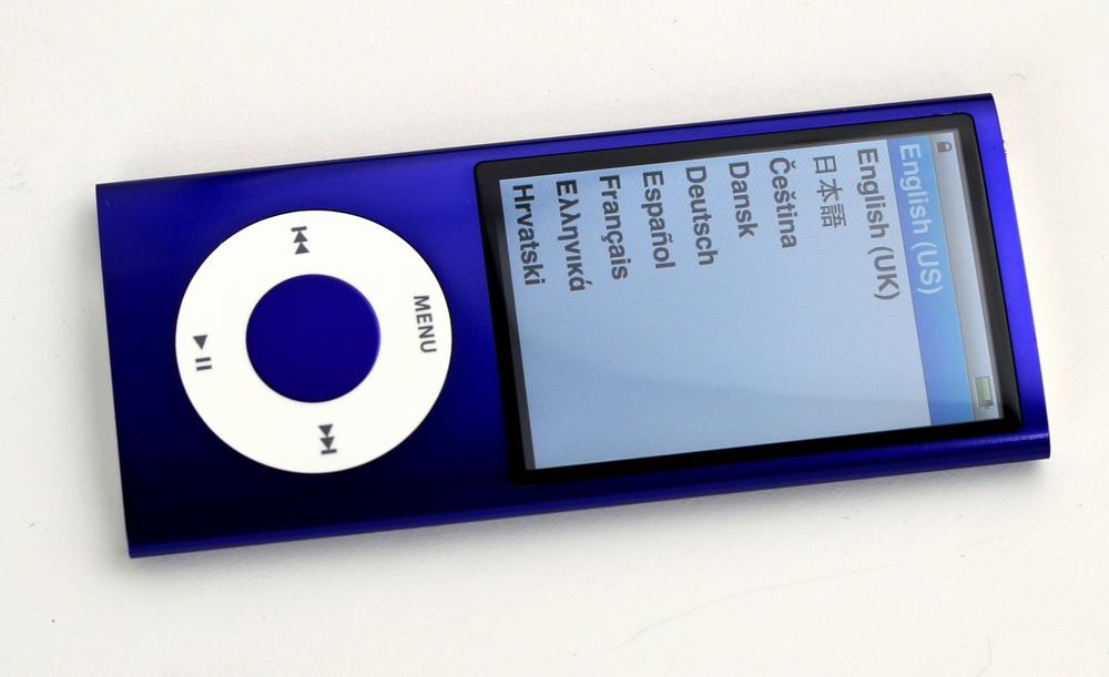 中古iPod nano買取ました!8GB 第5世代 MC034J/A パープル