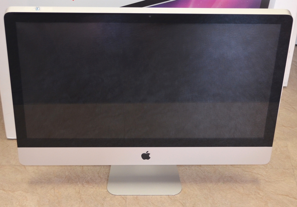 壊れたiMac買取ました!27-inch,Late 2009 CTO メモリ16GB Core i7