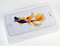 新品 au iPhone6s Plus買取ました!128GB MKUF2J/A ゴールド