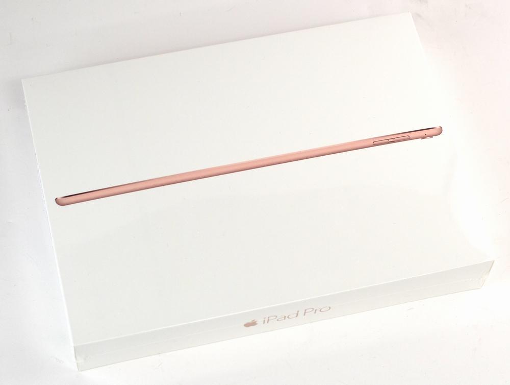 新品au iPad Pro買取ました!128GB MLYL2J/A 9.7-inch ローズゴールド