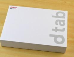 新品docomo dtab d-01H買取ました! ドコモ タブレット Huawei