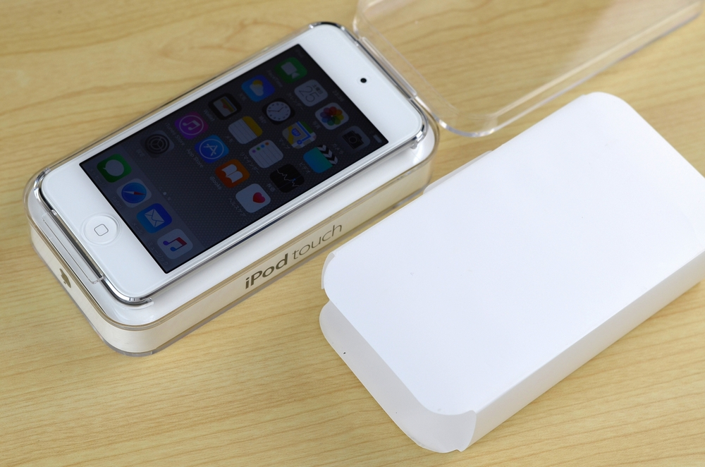 中古iPod touch買取ました!16GB 第6世代 MKH42J/A シルバー
