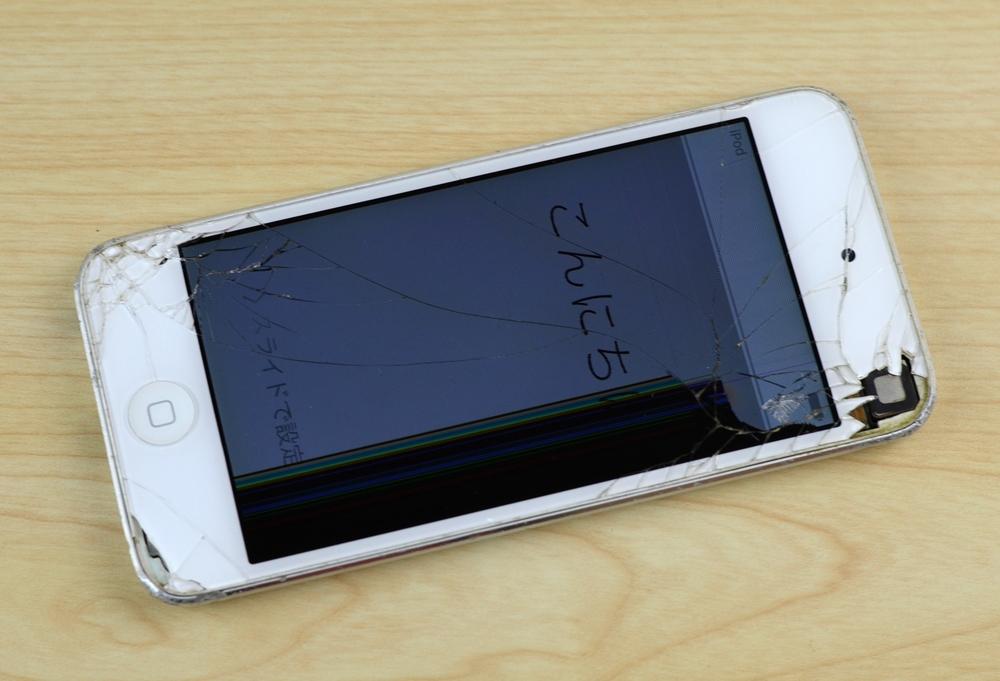 液晶破損iPod touch買取ました!32GB 第5世代 MD720J/A