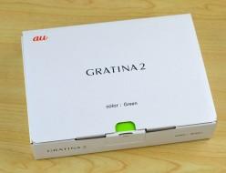 新品未使用 au GRATINA2買取ました!KYY10SGA グリーン