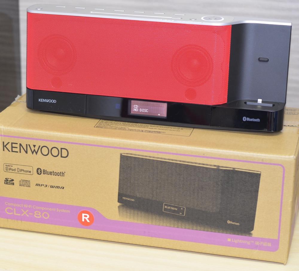 システムコンポ買取ました!KENWOOD コンパクトHi-Fiシステム CLX-80-R