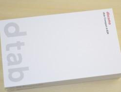 新品 docomo dtab Compact d-02H買取ました!