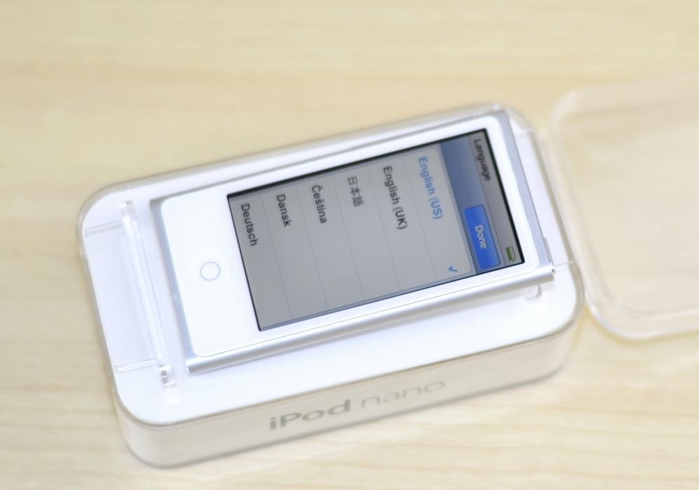 Apple iPod nano買取ました!7th generation,Mid 2015 MKN22J/A