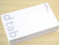 docomo dtab Compact d-02H タブレット買取ました!アンドロイド