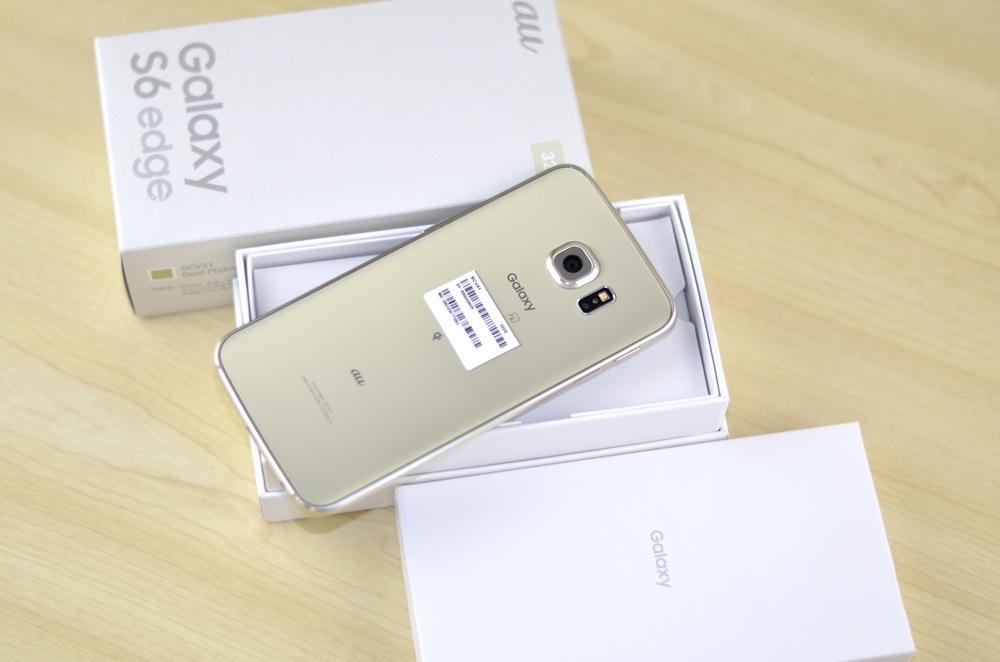 au SCV31買取ました!SIMフリー 32GB Galaxy S6 edge、SIMロック解除スマホ高額買取中!福岡ジャンク品ジャパン