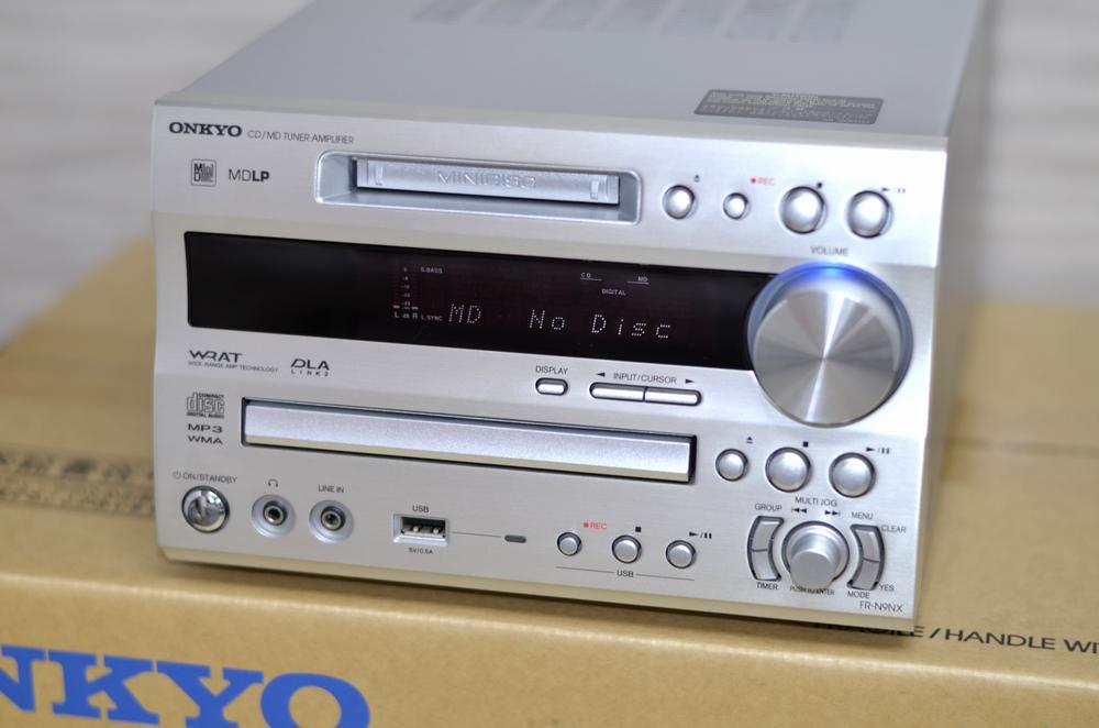 ONKYO(オンキヨー) コンポ買取りました!FR-N9NX(S)