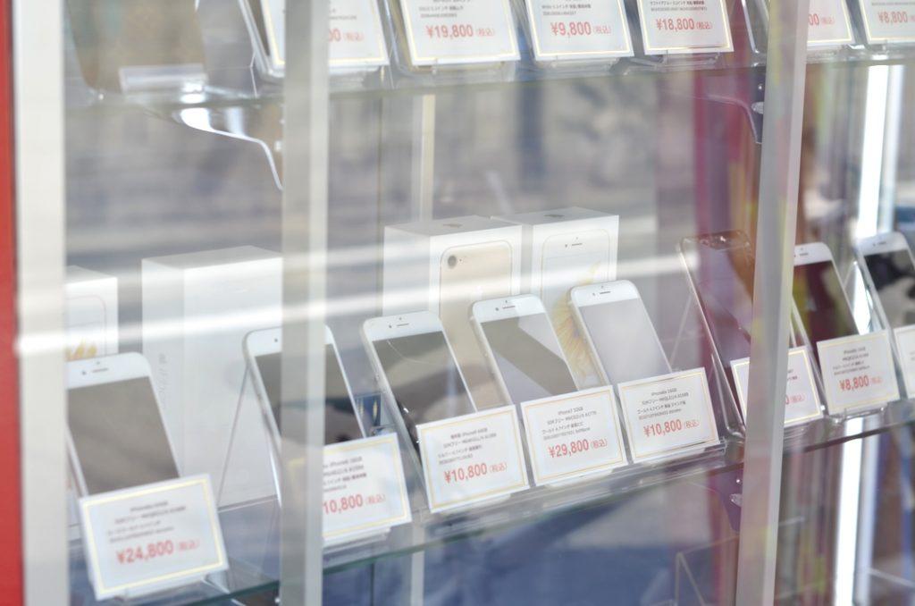 中古品・ジャンク品のiPhone・スマホを店頭にて販売中です!ジャンク品ジャパン福岡本店